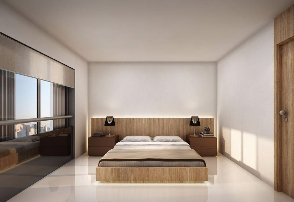 Perspectiva do 1º Dormitório