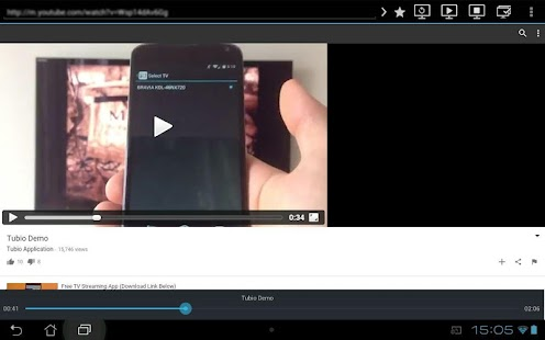 Tubio - Cast Web Videos to TV- screenshot thumbnail
