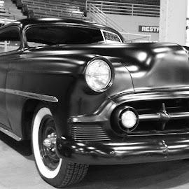 53 Bel air by Jennifer Ablicki - Transportation Automobiles ( car, bel air, grill, auto, chevy, classic )