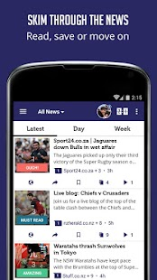 Rugby News & Live Scores - SF - screenshot