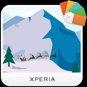 XPERIA™ Santa Sleigh Theme