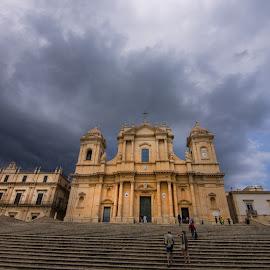 Catedrale di Noto, Sicilia by Pixie Simona - Buildings & Architecture Public & Historical ( domo, sicilia, noto's cathedral, catedrale di noto, dome, cathedral, noto, noto's dome,  )