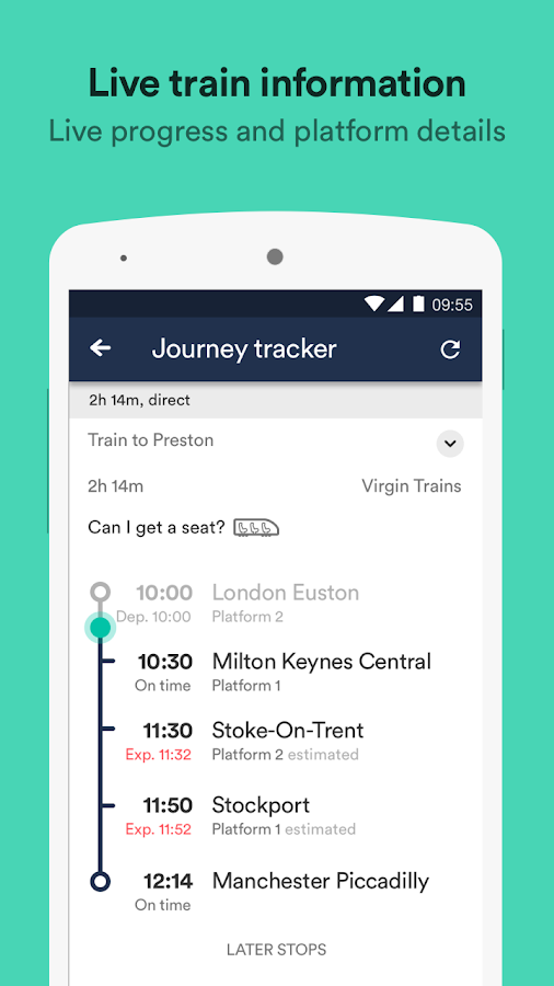 Trainline – times & tickets Screenshot 2
