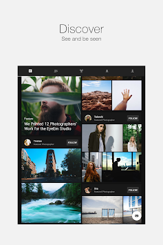 EyeEm - Foto Filter Camera APK screenshot thumbnail 14