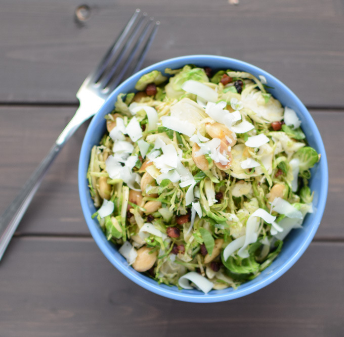 Brussel Sprout Salad Recipe | Yummly