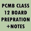 12 PCMB BOARD NOTES + Imp. Que APK for Bluestacks