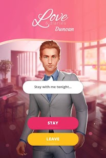 Game Love & Diaries : Duncan - Romance Interactive APK for Kindle