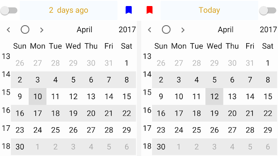 Dual Calendar (Paid) Screenshot