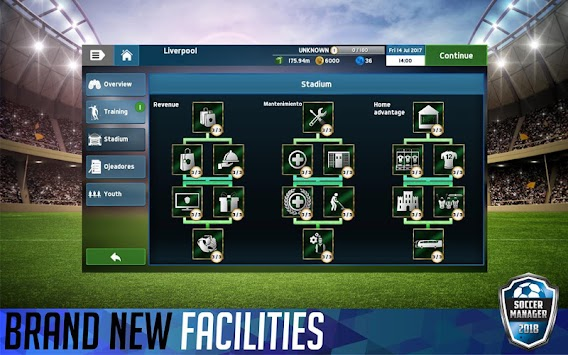 Soccer Manager 2018 (Unreleased) APK screenshot thumbnail 3