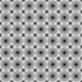Circular Pattern by Shun Rodnie Ablazo - Illustration Abstract & Patterns ( circular patterns, patterns, background, elements, floral )