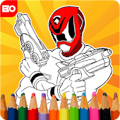 Game Super Hero Rangers apk for kindle fire