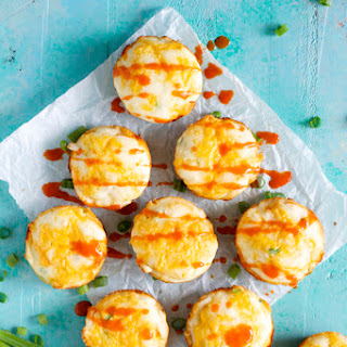 Spicy Buffalo Chicken Puffs