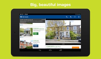 Screenshot of Rightmove property search app