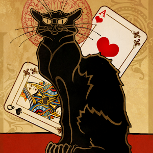 Black Cat Solitaire - TriPeaks