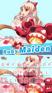 Ruby Maiden Theme for Keyboard - screenshot