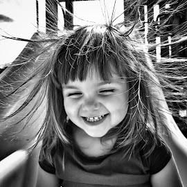 Static Slide by Lenny Stewart - Babies & Children Children Candids ( girl, joy, children, fun )