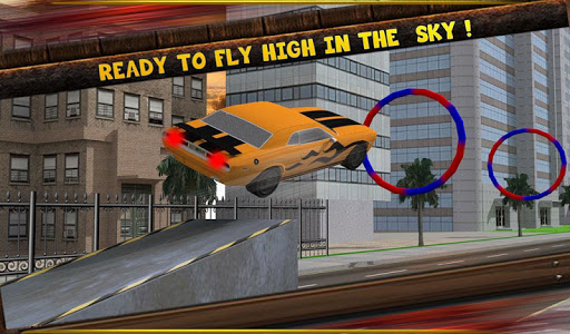 Flying Car Racing - screenshot