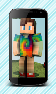 Skins for boys for minecraft - screenshot