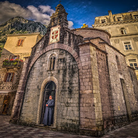 Kotor, Montenegro 005 by IP Maesstro - Buildings & Architecture Places of Worship ( religion, montenegro, old, ip maesstro, hdr, church, kotor )