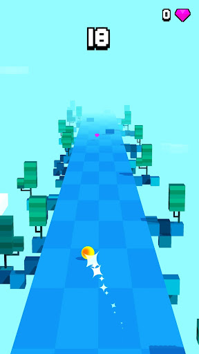 Cloud Ball - Endless Rush Game - screenshot