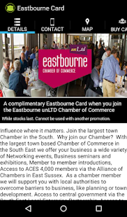Eastbourne Card - screenshot