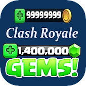 Gems for clash royal pro prank Icon