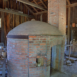 Beehive Kiln by Cal Brown - Buildings & Architecture Other Interior ( interior, craft, building, kiln, travel location, pottery, architectural detail, museum, architecture, public, travel photography, historic )