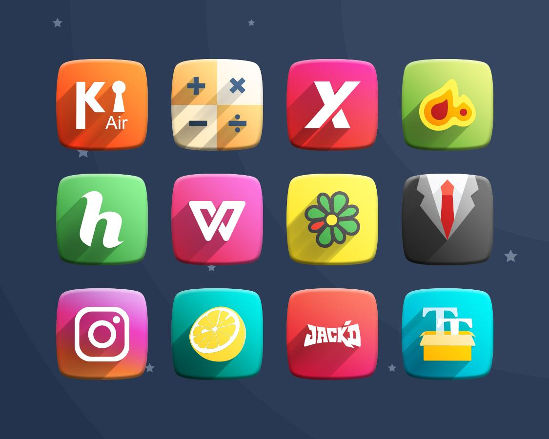 Space Z Icon Pack Theme Screenshot 11