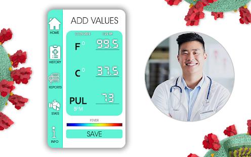 Body Temperature Thermometer : Fever Checker Diary for pc