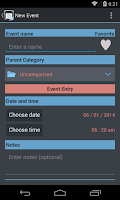 Screenshot of TimeJot