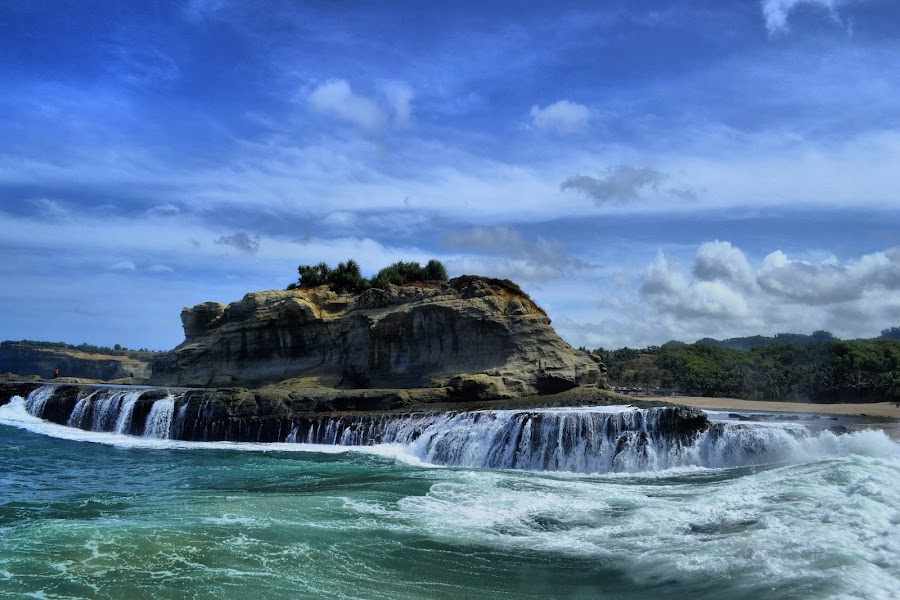 Pantai Klayar by Haddy Hartono - Landscapes Beaches ( klayar )