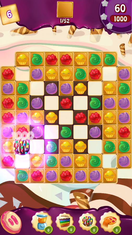 Cupcake Smash: Cookie Charms Screenshot 1