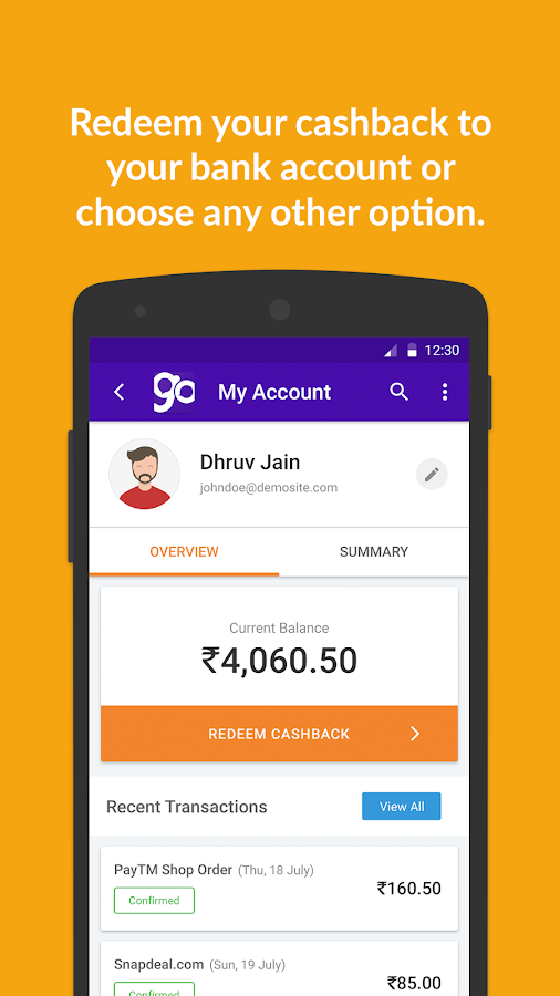 GoPaisa Cashback Coupons Deals Screenshot 5