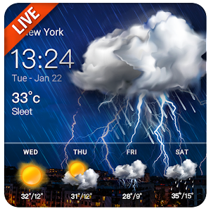 Daily Weather Live Widget