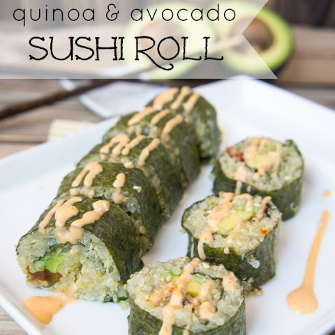 Quinoa and Avocado Sushi Rolls