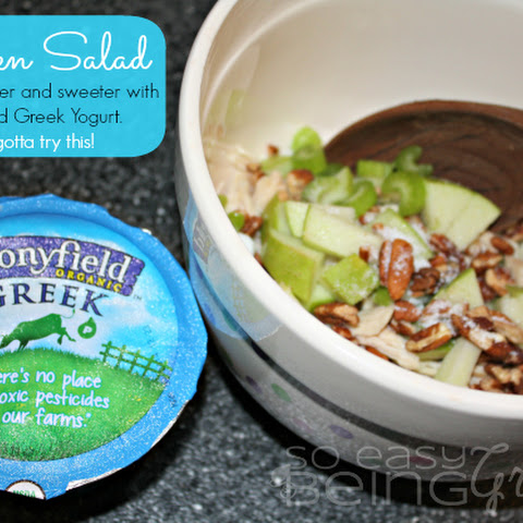 You Gotta Try This... Chicken Salad Made with Stonyfield Greek Yogurt