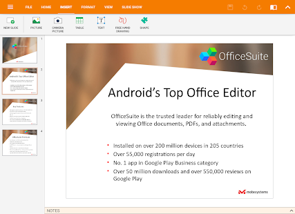 OfficeSuite Pro + PDF (Trial) APK for Bluestacks