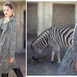 Claire Marie 2516 by Keith Darmanin - Digital Art People ( cool, model, fashion, stripes, heat, venere, photography, sun, savannah, sexy, kitz klikz, malta, sunny, tv, safari, keith darmanin, zebra,  )