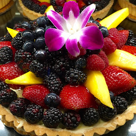 Delicious Fruity Tart by Lope Piamonte Jr - Food & Drink Candy & Dessert