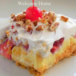 Banana Split Dessert Pudding Recipes