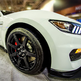Mean Machine by Sarthak Bisaria - Transportation Automobiles ( mustang, auto show, gt350, automobile, ford )