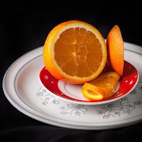 Ms Orange by Roi Piñga - Food & Drink Fruits & Vegetables ( orange, nikon d40, food, fruits )