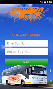 SUNWAY - Bus Tracking App - screenshot