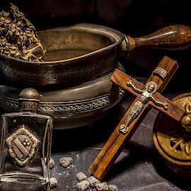 Beati pacifici by Ovidiu Sova - Artistic Objects Still Life ( religion, priest, god, church, cross,  )
