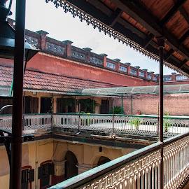 ITACHUA RAJBARI by Debasish Roy - Buildings & Architecture Homes ( zamindars, itachuna, palace, bengal, heritage )