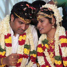 To find true love and to share one dream is a blessing. May you have many happy years together! by Karthikeyan Manickam - Wedding Bride & Groom