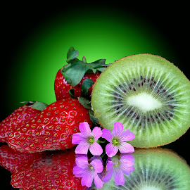 Kiwi-straw berry by Asif Bora - Food & Drink Fruits & Vegetables (  )