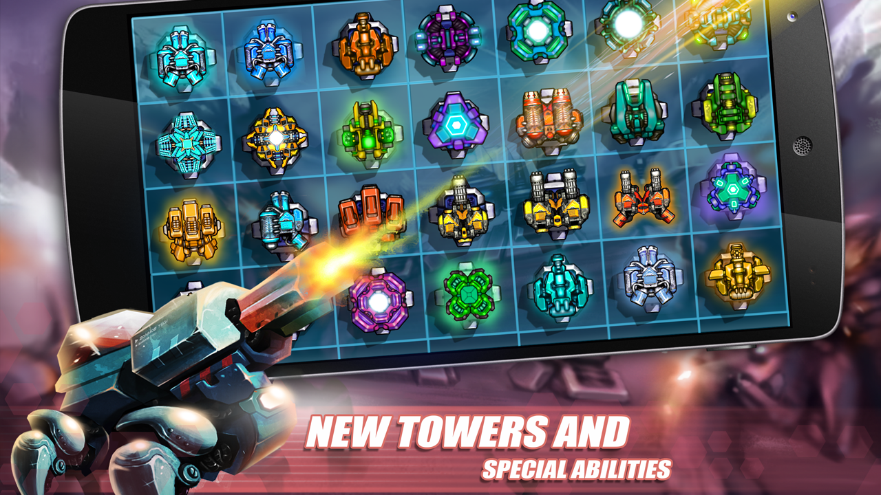 Tower Defense: Invasion HD Screenshot 2