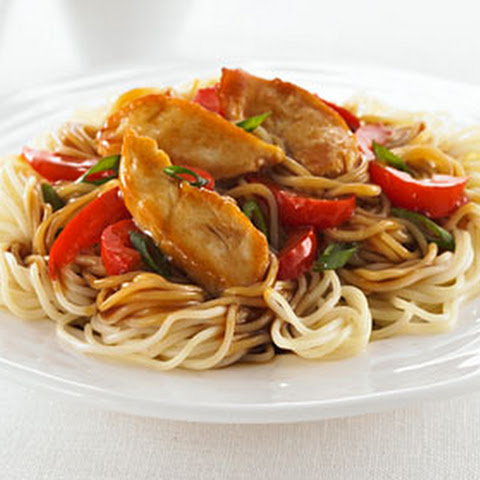 Catelli® Vermicelli with Chicken in Peanut Sauce