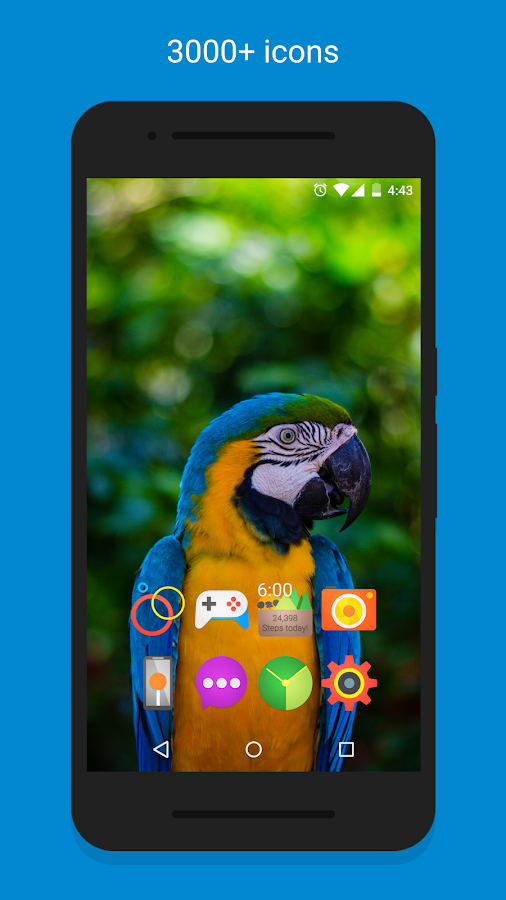 Vibion - Icon Pack Screenshot 1